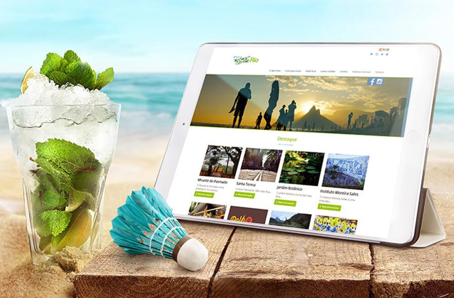 About Rio Site e E-commerce 3